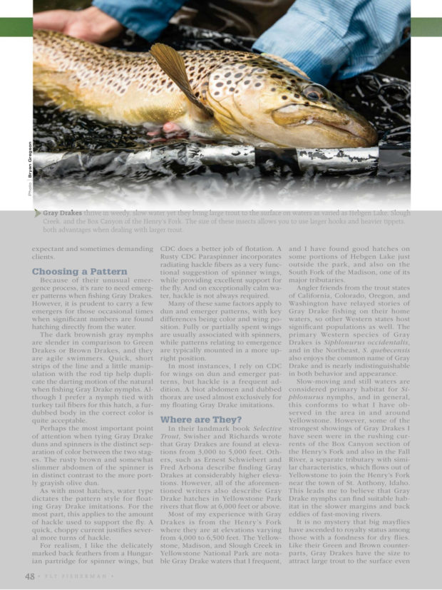 Blog bryan gregson photography for Fly fishing magazine